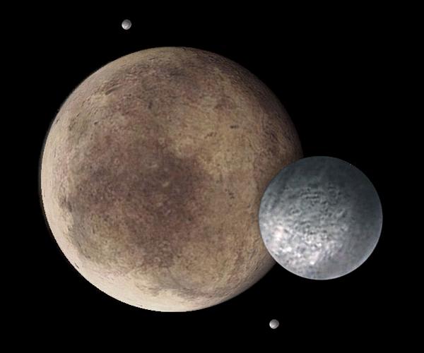 Image Univers Astronomie : Fiche technique : Pluton